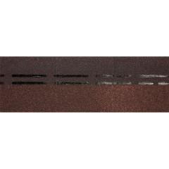 Коньково-карнизнаячерепицаDöckePIEStandardкоричневый 11м