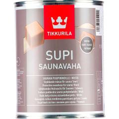 Воск для сауны Tikkurila Supi Saunavana EP 0.9 л