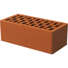 Кирпич лицевой керамический Braer 1.4 NF гладкий красный М150 250*120*88
