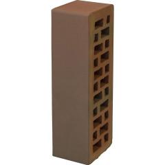 Кирпич лицевой керамический Braer 0.7 NF гладкий красный М150 250х85х65 мм