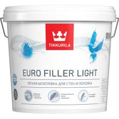 Шпатлевка легкая Tikkurila Euro Filler Light KTA 0.9 л
