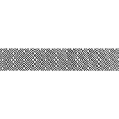 Плитка керамическая Unitile LIFE Камелия черный бордюр 01 400х75 мм