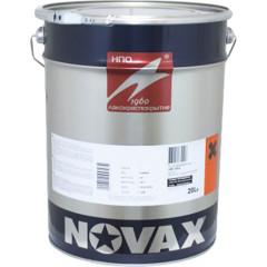Грунт-эмаль 3 в 1 антикоррозионная Novax RAL 7040 глянцевая серая 20 л