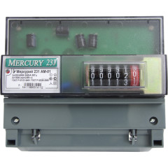Электросчетчик трехфазный однотарифный Инкотекс Меркурий 231АМ 01 5-60 А 3х230/400 V