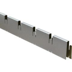 Профиль Грильято Cesal ПРОФИ папа 75х75х40 мм металлик 0.6 м