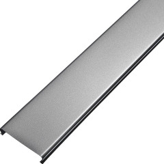 Потолок реечный Cesal S-100 Profi 3313 металлик серебристый 4 м, 30 шт.