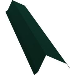 Планка торцевая с пленкой Grand Line 0.45 см PE RAL 6005 зеленый мох