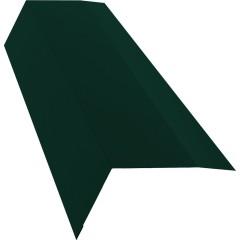 Планка карнизная с пленкой Grand Line 0.45 см PE RAL 6005 зеленый мох