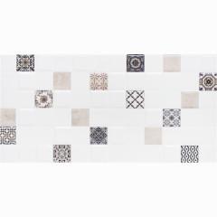Декор настенный LB-Ceramics Астрид 1 20x40 см кофейный