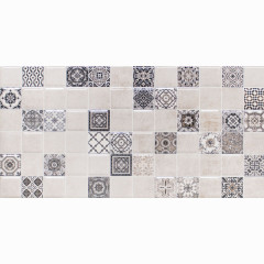 Декор настенный LB-Ceramics Астрид 3 20x40 см кофейный