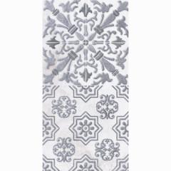 Декор настенный LB-Ceramics Кампанилья 1 20x40 см серый