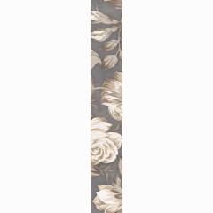 Бордюр настенный LB-Ceramics Fiori Grigio 2 9x60 см