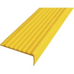 Угол противоскользящий самоклеющийся 44х2500 мм желтый