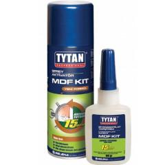 Клей цианакрилатный для МДФ TYTAN  200 мл / 50 мл