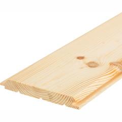 Имитатор бруса FOREST-MSK Оптима 20х146х3000 мм хвоя, 4 шт.