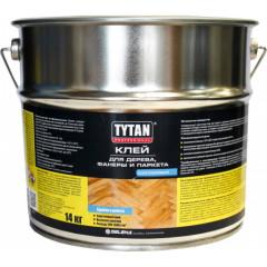 Клей каучуковый для дерева фанеры и паркета TYTAN 14 кг