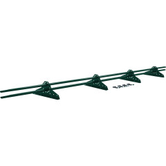 Снегозадержатель трубчатый Grand Line RAL 6005 зеленый мох 3 м