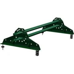 Снегозадержатель трубчатый Grand Line RAL 6005 зеленый мох 1 м