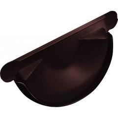 Заглушка торцевая универсальная Grand Line 125 мм шоколад 0.6 мм