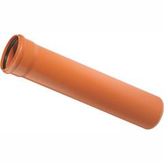 Труба наружной канализации Ostendorf KGEM ПВХ 110x3000 мм