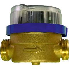 Счетчик горячей воды Тепловодомер ВСХ-15-02 крыльчатый 110 мм