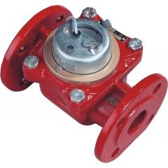 Счетчик горячей воды Тепловодомер ВСТН-40 турбинный 200 мм