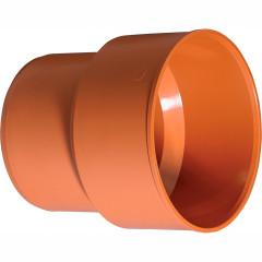 Переход на гладкий конец чугунной трубы наружной канализации Ostendorf KGUG ПВХ 110 мм