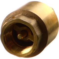 """Клапан обратный с латунным золотником TeRma 33964 1"""" внутренняя резьба"""