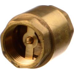 """Клапан обратный с латунным золотником TeRma 33963 3/4"""" внутренняя резьба"""
