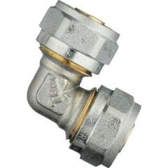 Уголок обжимной TeRma 01200 d 16х16 мм цанга/цанга
