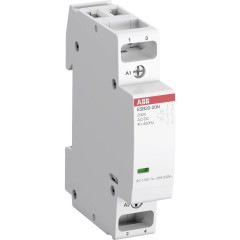 Модульный контактор ABB ESB20-20N-06 20А АС-1 2НО катушка 230В AC/DC