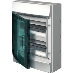 Бокс настенный ABB Mistral65 1SL1204A00 24М прозрачная дверь 2 ряда без клемм
