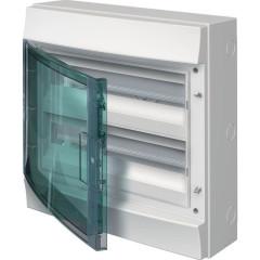 Бокс настенный ABB Mistral65 1SLM006501A1205 36М прозрачная дверь 2 ряда с клеммами