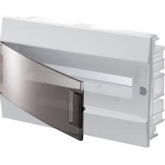 Бокс в нишу ABB Mistral41 1SLM004101A1204 18М прозрачная дверь c клеммами