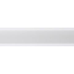 Плинтус ПВХ Salag NG80 2500x80x20 мм белый
