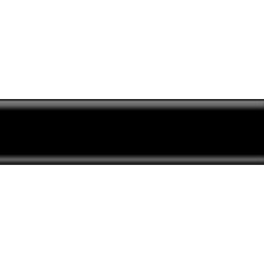 Плинтус ПВХ Salag NG80 2500x80x20 мм черный