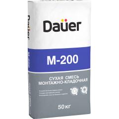 Сухая смесь Dauer М200 монтажно-кладочная 50 кг