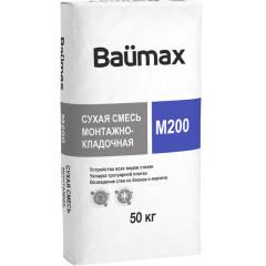 Сухая смесь Baumax M200 монтажно-кладочная 50 кг