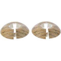Обвод для труб T-plast Дерево 22 мм, 2 шт.