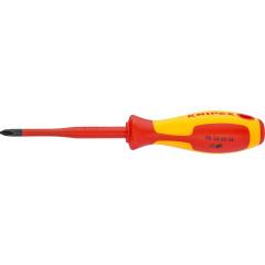 Отвертка Knipex KN-982402SL Phillips PH2 диэлектрическая 21.2х3.3 см