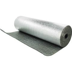Рулон теплоизоляционный Тилит Блэк Стар Дакт-АЛ самоклеющийся толщина 10 мм длина 20 м, 24 м2