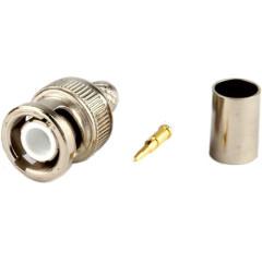 Разъем для кабеля Hyperline CON-BNC-M-RG6-CR
