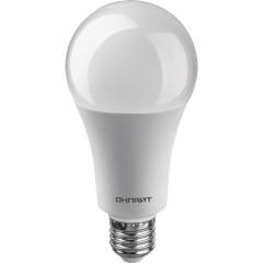 Лампа светодиодная Онлайт груша матовая E27 25W 230V 2700K OLL-A70-25-230-2.7K-E27