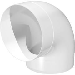 Колено Эра 10ККП круглое 90 градусов 100 мм