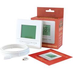 Терморегулятор для теплого пола Национальный комфорт 721 белый