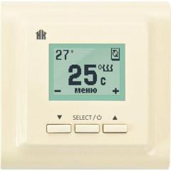 Терморегулятор для теплого пола Национальный комфорт 721 кремовый