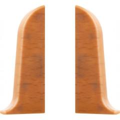 Заглушка левая и правая T-plast 58 мм бук натуральный 003, 2 шт.