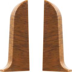 Заглушка левая и правая T-plast 58 мм орех светлый 016, 2 шт.