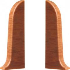 Заглушка левая и правая T-plast 58 мм дуб коньяк 025, 2 шт.