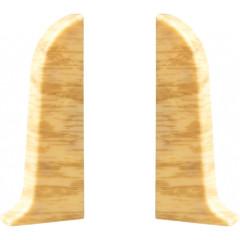Заглушка левая и правая T-plast 58 мм ясень натуральный 058, 2 шт.